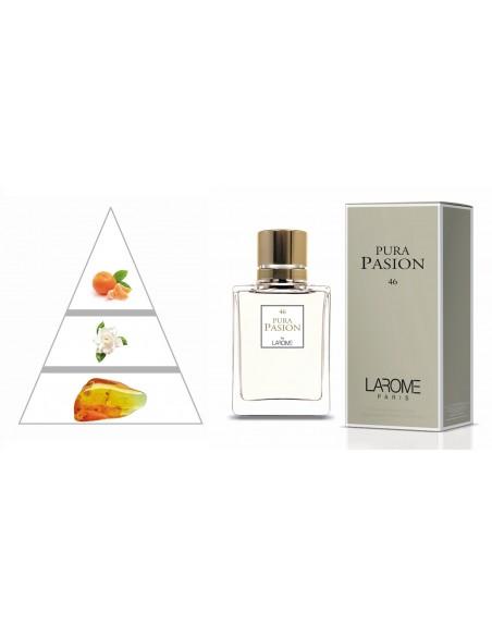 PURA PASION by LAROME (46F) Perfume Feminino - Pirâmide olfatória