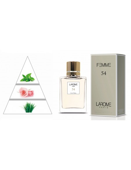 LAROME (54F) Profumo Femminile - Piramide olfattiva