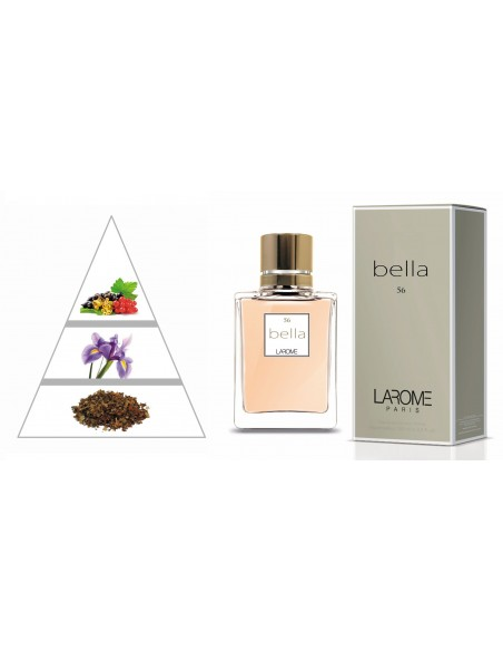 BELLA by LAROME (56F) Perfume for Woman - Olfactory pyramid