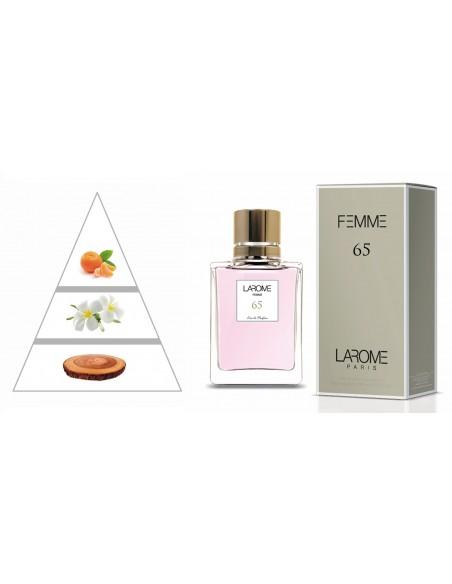 LAROME (65F) Perfume Feminino - Pirâmide olfatória