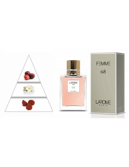 LAROME (68F) Perfume for Woman - Olfactory pyramid