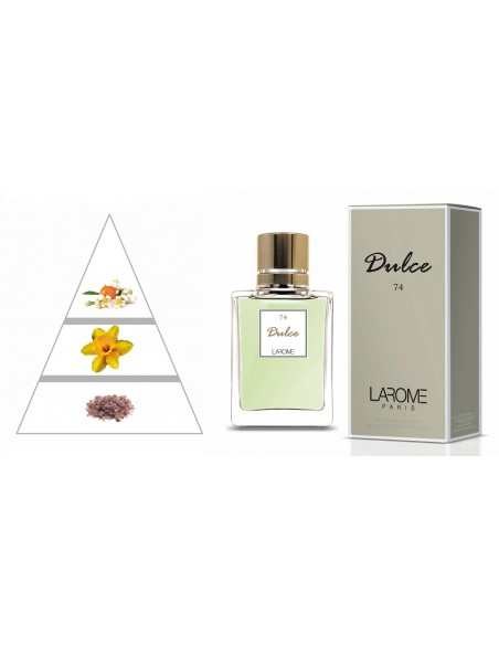 DULCE by LAROME (74F) Perfume for Woman - Olfactory pyramid