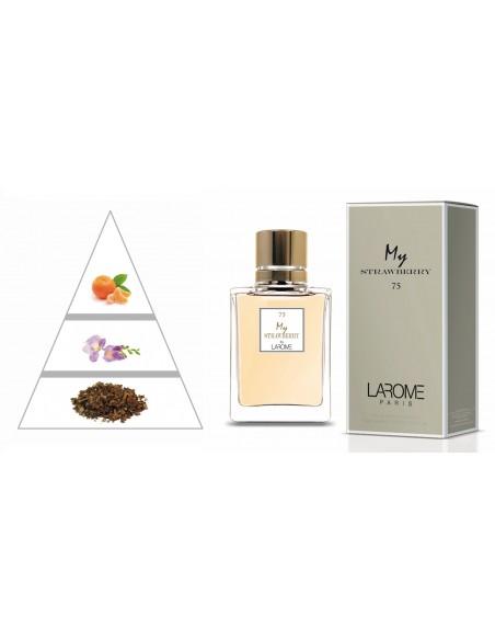 MY STRAWBERRY by LAROME (75F) Perfume Feminino - Pirâmide olfatória
