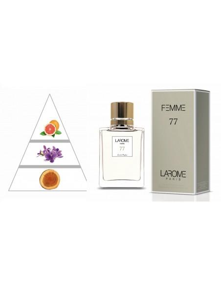 LAROME (77F) Parfum Femme - Pyramide olfactive
