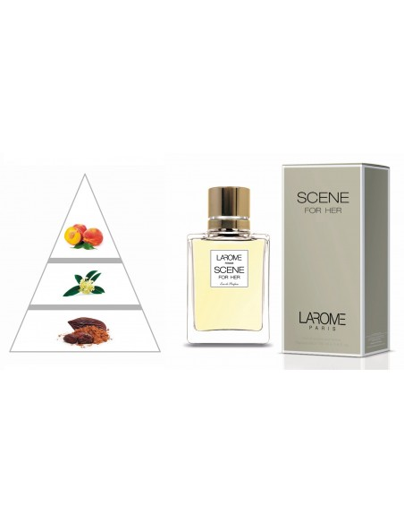 SCENE FOR HER by LAROME (89F) Parfum Femme - Pyramide olfactive