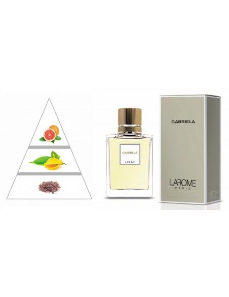 GABRIELA by LAROME (9F) Perfume Femenino - Pirámide olfativa