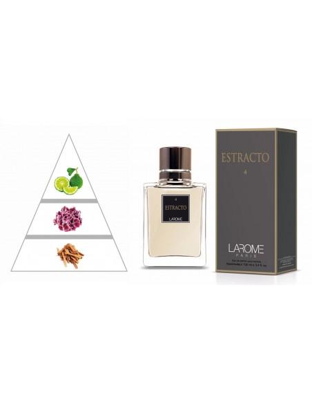 ESTRACTO by LAROME (4M) Profumo Maschile - Piramide olfattiva