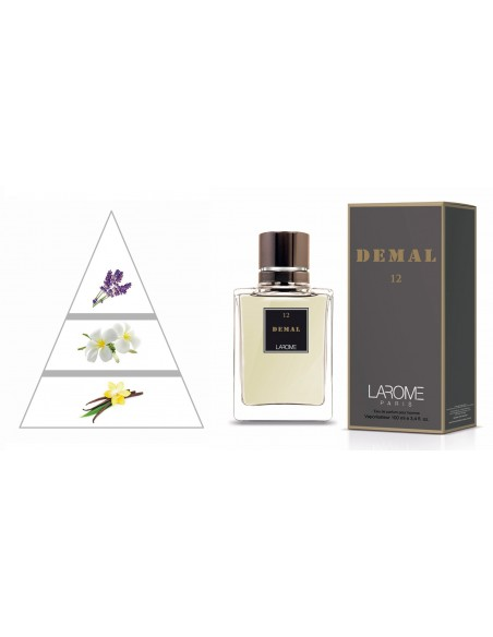 DEMAL by LAROME (12M) Perfume for Man - Olfactory pyramid