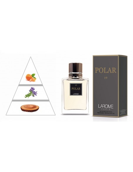 POLAR by LAROME (19M) Perfume for Man - Olfactory pyramid