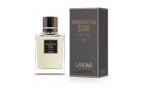 MANHATTAN STAR FOR MEN by LAROME (28M) Perfume for Man