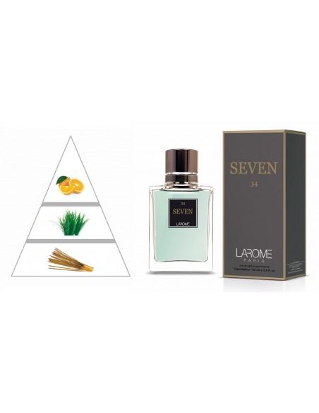 SEVEN by LAROME (34M) Profumo Maschile - Piramide olfattiva