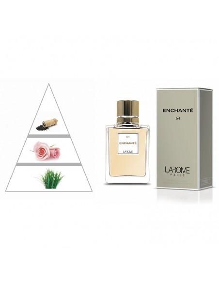 ENCHANTÉ by LAROME (64F) Parfum Femme - Pyramide olfactive