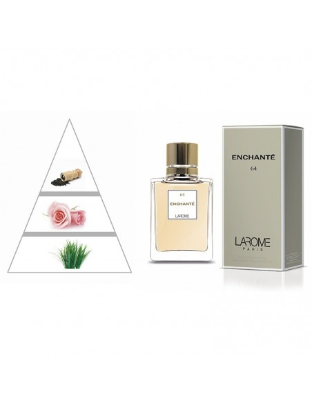 ENCHANTÉ by LAROME (64F) Perfume Feminino - Pirâmide olfatória
