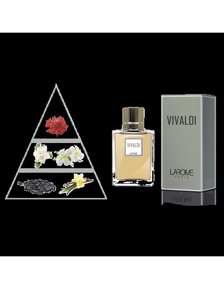 VIVALDI by LAROME (92F) Perfume Femenino. Piramide olfativa