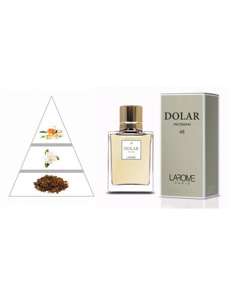 DOLAR WOMAN by LAROME (48F) Perfume Feminino - Pirâmide olfatória