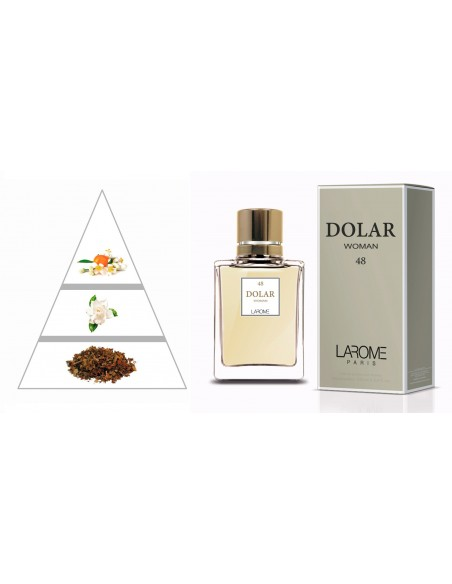 DOLAR WOMAN by LAROME (48F) Profumo Femminile - Piramide olfattiva