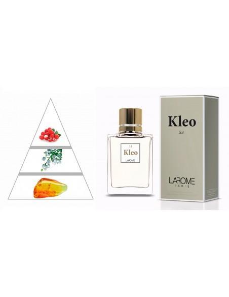 KLEO by LAROME (53F) Perfume Femenino - Pirámide olfativa
