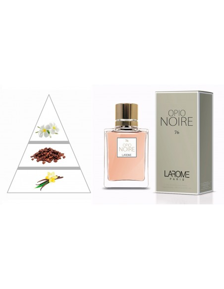 OPIO NOIRE by LAROME (76F) Perfume for Woman - Olfactory pyramid
