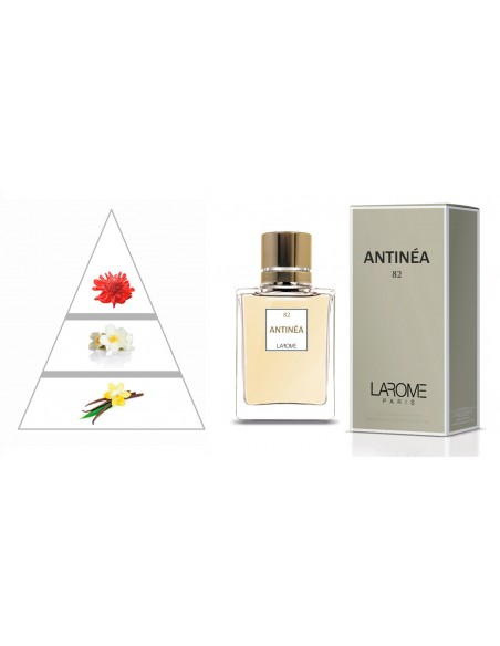 ANTINÉA by LAROME (82F) Parfum Femme - Pyramide olfactive