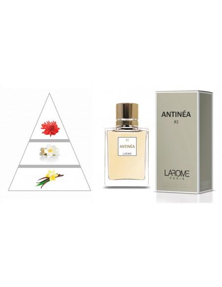 ANTINÉA by LAROME (82F) Perfume Feminino - Pirâmide olfatória