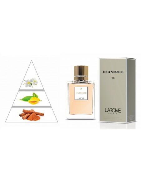 PICARDIA by LAROME (28F) Perfume Femenino - Pirámide olfativa