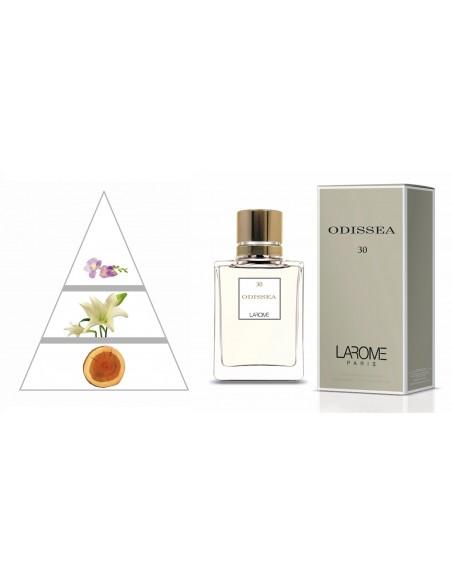 ODISSEA by LAROME (30F) Parfum Femme - Pyramide olfactive