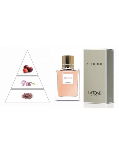 BEDUINE by LAROME (33F) Perfume Feminino - Pirâmide olfatória