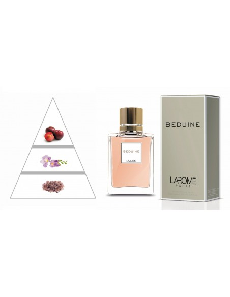 BEDUINE by LAROME (33F) Perfume for Woman - Olfactory pyramid