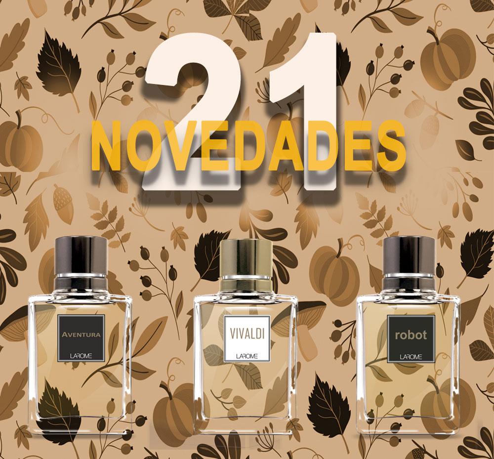 Novedades de otoño - Perfumes Larome